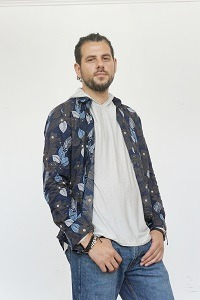EMF Protection Silver and Bamboo Hoodie under shirt