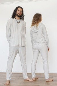 EMF Protection Bamboo and Silver Hoodie and Leggings