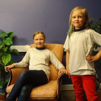 Kids EMF bamboo and silver t shirts