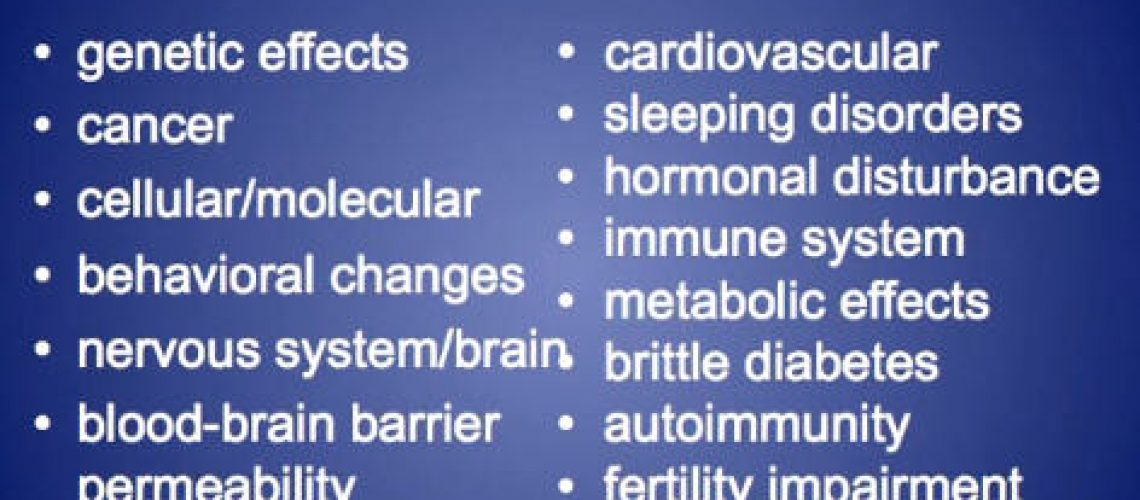 health effects of electromagnetic fields